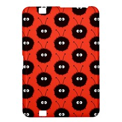 Red Cute Dazzled Bug Pattern Kindle Fire Hd 8 9  Hardshell Case