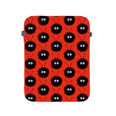 Red Cute Dazzled Bug Pattern Apple Ipad Protective Sleeve