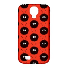Red Cute Dazzled Bug Pattern Samsung Galaxy S4 Classic Hardshell Case (PC+Silicone)