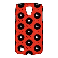 Red Cute Dazzled Bug Pattern Samsung Galaxy S4 Active (I9295) Hardshell Case