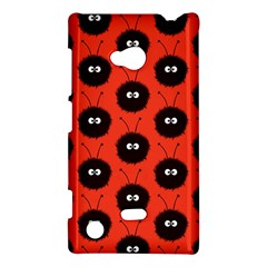 Red Cute Dazzled Bug Pattern Nokia Lumia 720 Hardshell Case