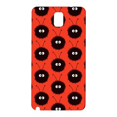 Red Cute Dazzled Bug Pattern Samsung Galaxy Note 3 N9005 Hardshell Back Case