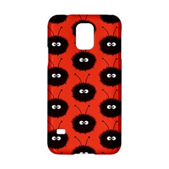 Red Cute Dazzled Bug Pattern Samsung Galaxy S5 Hardshell Case