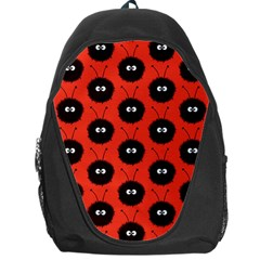 Red Cute Dazzled Bug Pattern Backpack Bag