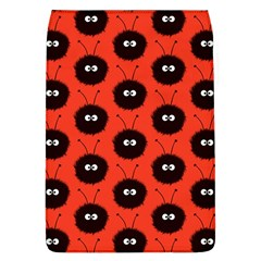 Red Cute Dazzled Bug Pattern Removable Flap Cover (large)