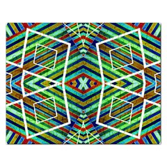 Colorful Geometric Abstract Pattern Jigsaw Puzzle (Rectangle)