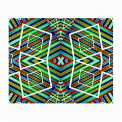Colorful Geometric Abstract Pattern Glasses Cloth (Small, Two Sided)