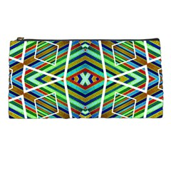 Colorful Geometric Abstract Pattern Pencil Case