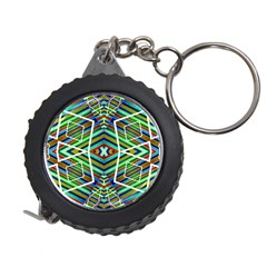 Colorful Geometric Abstract Pattern Measuring Tape