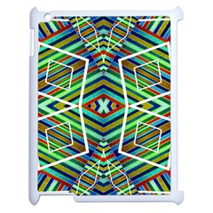 Colorful Geometric Abstract Pattern Apple Ipad 2 Case (white)