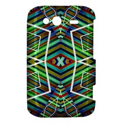 Colorful Geometric Abstract Pattern HTC Wildfire S A510e Hardshell Case