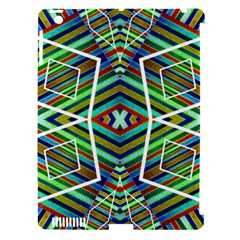 Colorful Geometric Abstract Pattern Apple Ipad 3/4 Hardshell Case (compatible With Smart Cover)