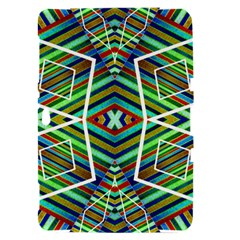 Colorful Geometric Abstract Pattern Samsung Galaxy Tab 8.9  P7300 Hardshell Case
