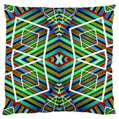 Colorful Geometric Abstract Pattern Large Cushion Case (single Sided)