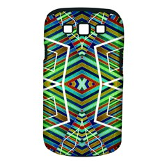Colorful Geometric Abstract Pattern Samsung Galaxy S III Classic Hardshell Case (PC+Silicone)