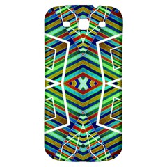 Colorful Geometric Abstract Pattern Samsung Galaxy S3 S Iii Classic Hardshell Back Case