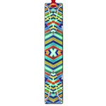 Colorful Geometric Abstract Pattern Large Bookmark Front