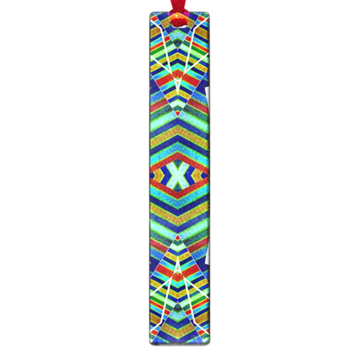 Colorful Geometric Abstract Pattern Large Bookmark