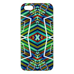 Colorful Geometric Abstract Pattern Apple Iphone 5 Premium Hardshell Case