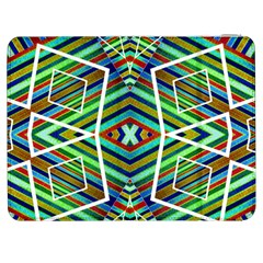 Colorful Geometric Abstract Pattern Samsung Galaxy Tab 7  P1000 Flip Case