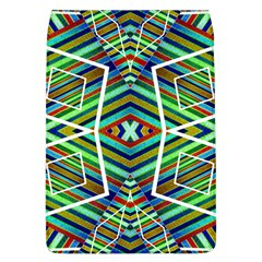 Colorful Geometric Abstract Pattern Removable Flap Cover (large)