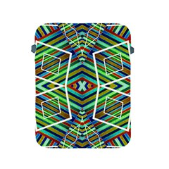 Colorful Geometric Abstract Pattern Apple iPad Protective Sleeve