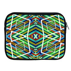 Colorful Geometric Abstract Pattern Apple Ipad Zippered Sleeve