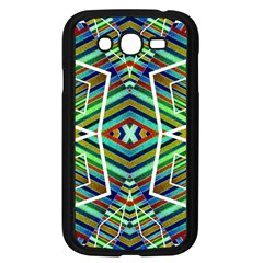 Colorful Geometric Abstract Pattern Samsung Galaxy Grand Duos I9082 Case (black)