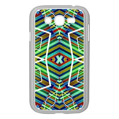 Colorful Geometric Abstract Pattern Samsung Galaxy Grand DUOS I9082 Case (White)
