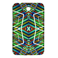 Colorful Geometric Abstract Pattern Samsung Galaxy Tab 3 (7 ) P3200 Hardshell Case