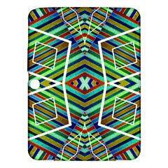 Colorful Geometric Abstract Pattern Samsung Galaxy Tab 3 (10.1 ) P5200 Hardshell Case