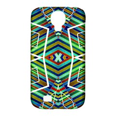 Colorful Geometric Abstract Pattern Samsung Galaxy S4 Classic Hardshell Case (PC+Silicone)