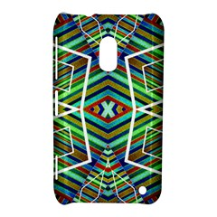 Colorful Geometric Abstract Pattern Nokia Lumia 620 Hardshell Case