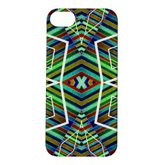 Colorful Geometric Abstract Pattern Apple iPhone 5S Hardshell Case