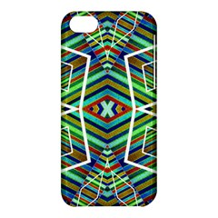 Colorful Geometric Abstract Pattern Apple iPhone 5C Hardshell Case