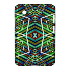 Colorful Geometric Abstract Pattern Samsung Galaxy Tab 2 (7 ) P3100 Hardshell Case