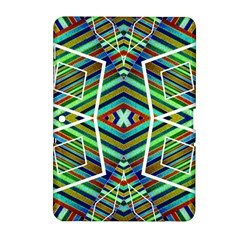 Colorful Geometric Abstract Pattern Samsung Galaxy Tab 2 (10.1 ) P5100 Hardshell Case