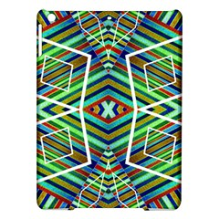 Colorful Geometric Abstract Pattern Apple iPad Air Hardshell Case