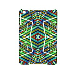 Colorful Geometric Abstract Pattern Apple iPad Mini 2 Hardshell Case