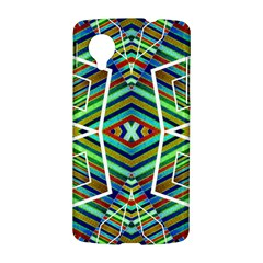 Colorful Geometric Abstract Pattern Google Nexus 5 Hardshell Case