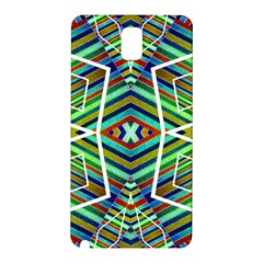 Colorful Geometric Abstract Pattern Samsung Galaxy Note 3 N9005 Hardshell Back Case