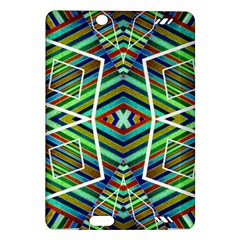 Colorful Geometric Abstract Pattern Kindle Fire HD 7  (2nd Gen) Hardshell Case