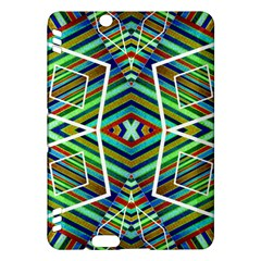 Colorful Geometric Abstract Pattern Kindle Fire HDX 7  Hardshell Case