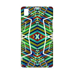 Colorful Geometric Abstract Pattern Sony Xperia Z1 L39H Hardshell Case