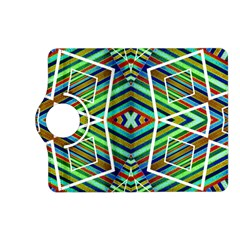Colorful Geometric Abstract Pattern Kindle Fire Hd 7  (2nd Gen) Flip 360 Case