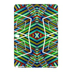 Colorful Geometric Abstract Pattern Samsung Galaxy Tab Pro 10 1 Hardshell Case