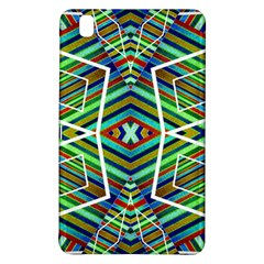 Colorful Geometric Abstract Pattern Samsung Galaxy Tab Pro 8 4 Hardshell Case