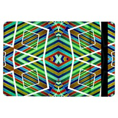 Colorful Geometric Abstract Pattern Apple Ipad Air Flip Case