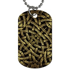Ancient Arabesque Stone Ornament Dog Tag (One Sided)
