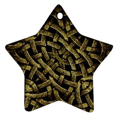 Ancient Arabesque Stone Ornament Star Ornament (Two Sides)